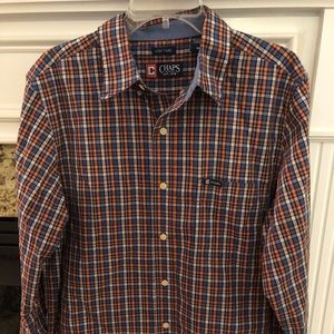 Men's multicolor button up